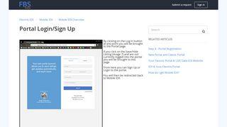 Portal Login/Sign Up – Flexmls IDX