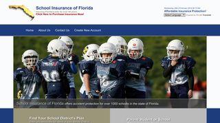 School Insurance of Florida   Student Insurance