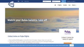 Flybe | Collect Avios | Avios
