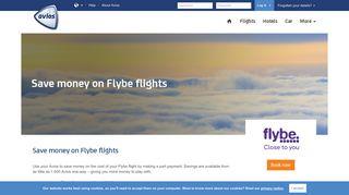 Spending Avios on Flybe flights | Avios