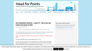 How to earn and redeem Avios points on Flybe - Head for Points