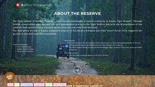 Kanha Tiger Reserve - MP Forest Online