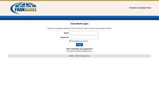 FranServe Consultant Intranet