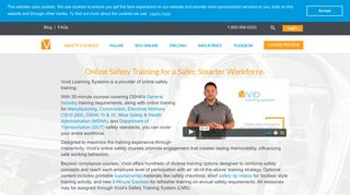 Online Safety Training Courses   Vivid Learning Systems