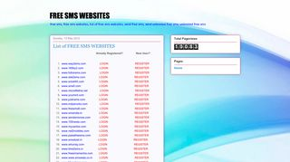 FREE SMS WEBSITES