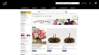 Gold - FTD Flowers - FTD.com