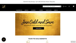 FTD Gold and FTD Gold Membership - FTD.com