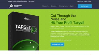 Target Trading 2.0 Forex Trading System | Market Traders Institute