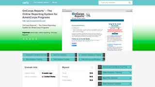 ga.oncorpsreports.com - OnCorps Reports™ - The Online ... - Ga On ...