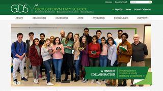 Georgetown Day School - Coed, preK-12 private school in ...
