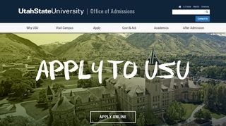 Apply to Utah State University | Admissions | USU