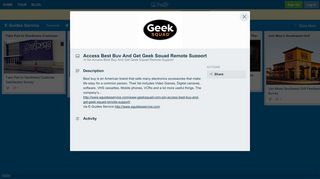 Access Best Buy And Get Geek Squad Remote Support on E Guides ...
