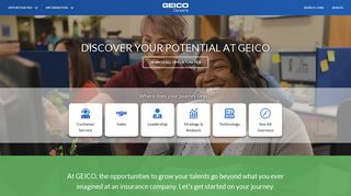 GEICO Careers | Jobs in IT, Sales, Insurance, Claims, Customer Service