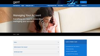 Managing Your Account | Everything You Need to Know | Gem Visa ...