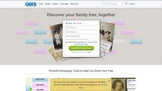 Family Tree & Family History at Geni.com