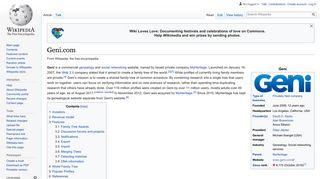 Geni.com - Wikipedia