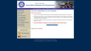 Officer Records - Georgia Peace Officer Standards and Training ...