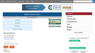 Gesa Credit Union - Kennewick, WA at 100 N ... - Credit Unions Online