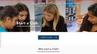 Start a Club - Girls Who Code