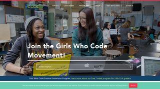 Volunteer - Girls Who Code