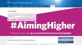 Student   GCU - Glasgow Caledonian University