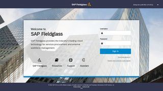 Log-in or Register - Fieldglass
