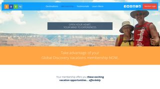Discover a Membership with Global Discovery Vacations