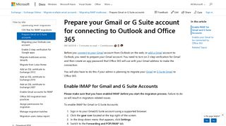 Prepare your Gmail or G Suite account for connecting to Outlook and ...