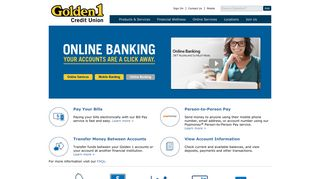 Golden 1 Credit Union | Online Banking