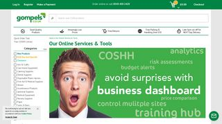 Our Online Services & Tools - Gompels HealthCare