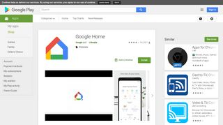 Google Home – Apps on Google Play