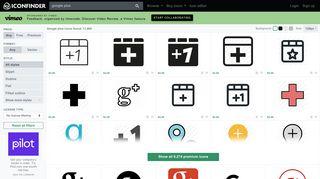 Google plus icons - 11,670 free & premium icons on Iconfinder