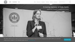 USGBC homepage | USGBC