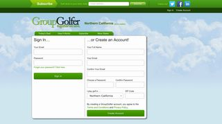 Sign In or Create an Account   GroupGolfer.com