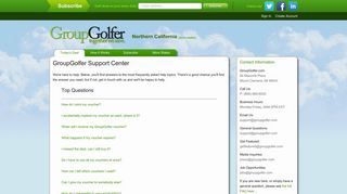 Support Center   GroupGolfer.com