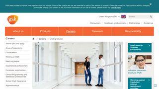 Undergraduates | GSK UK