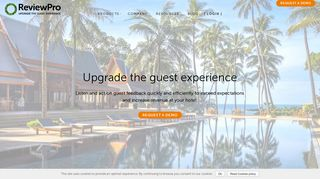 ReviewPro - Upgrade the Guest Experience