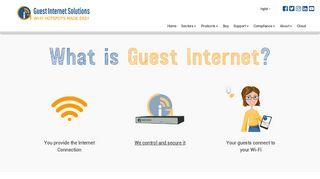 Guest Internet Hotspot