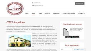 GWN Securities - Virginia Retirement Specialists, Inc.