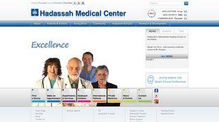 Hadassah Medical Center – Medical Treatment in Israel, Jerusalem