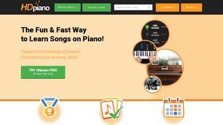 HDpiano: Homepage