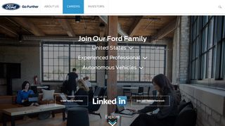 Careers - Corporate Ford