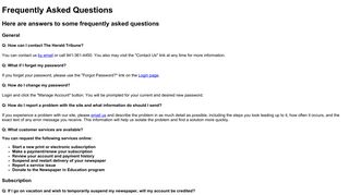 FAQs - SubscribeHome.com