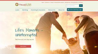 HawaiiUSA Federal Credit Union   Credit Union in Maui, Oahu, and ...