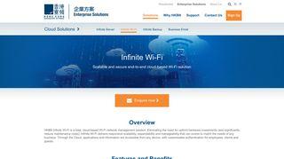 Infinite Wi-Fi   HKBN Enterprise Solutions