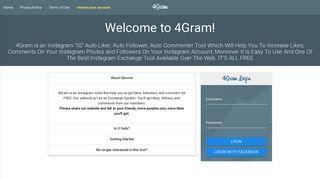 4Gram   Insta4Liker - Free Instagram Auto Liker & Auto Follower ...