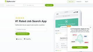 ZipRecruiter: Job Search - Millions of Jobs Hiring Near You