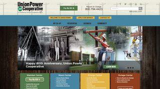 Union Power Cooperative: Home
