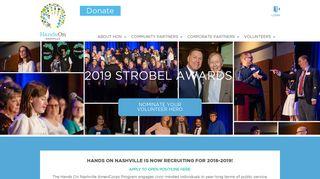 Hands On Nashville | AmeriCorps at HON