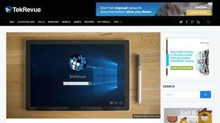 How to Skip the Windows 10 Login Screen - TekRevue